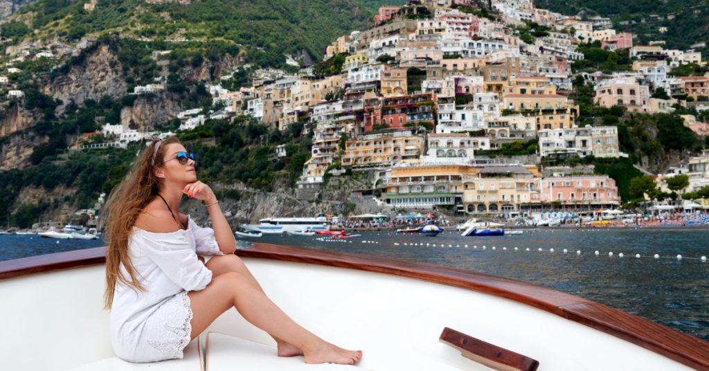 escursione in barca a positano